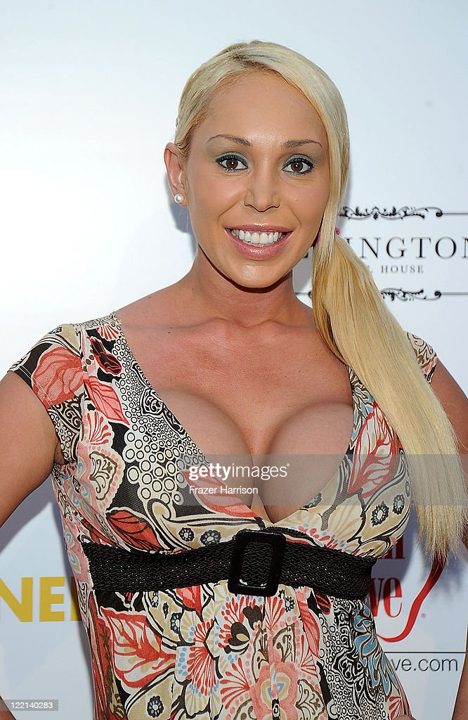 Actress Mary Carey attends the screening of Samuel Goldwyn Films' 'A Good Old Fashioned Orgy' at Arclight Cinemas on August 25 2011 in Los Angeles...