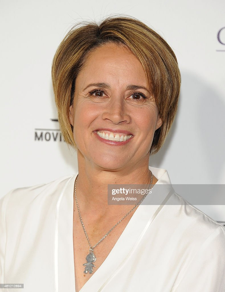 Actress Mary Carillo arrives at Hallmark Channel Hallmark Movie Channel's 2015 Winter TCA party at Tournament House on January 8 2015 in Pasadena...