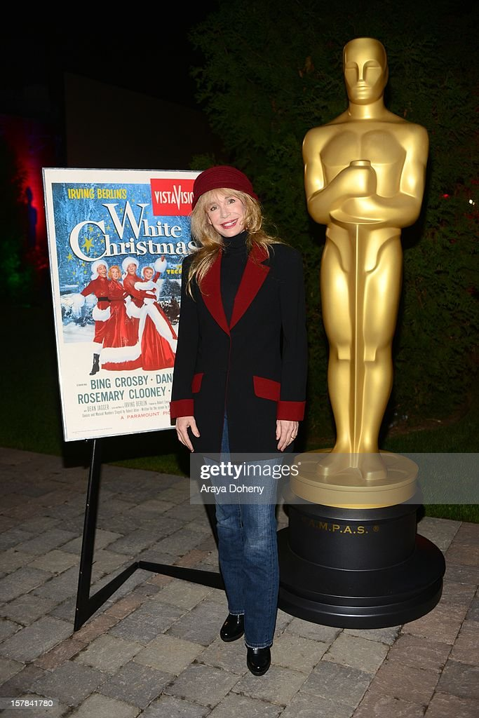 Actress Mary Crosby attends the Academy of Motion Picture Arts and Sciences screening of 'White Christmas' held at Oscars Outdoors on December 6, 2012 in Hollywood, California.