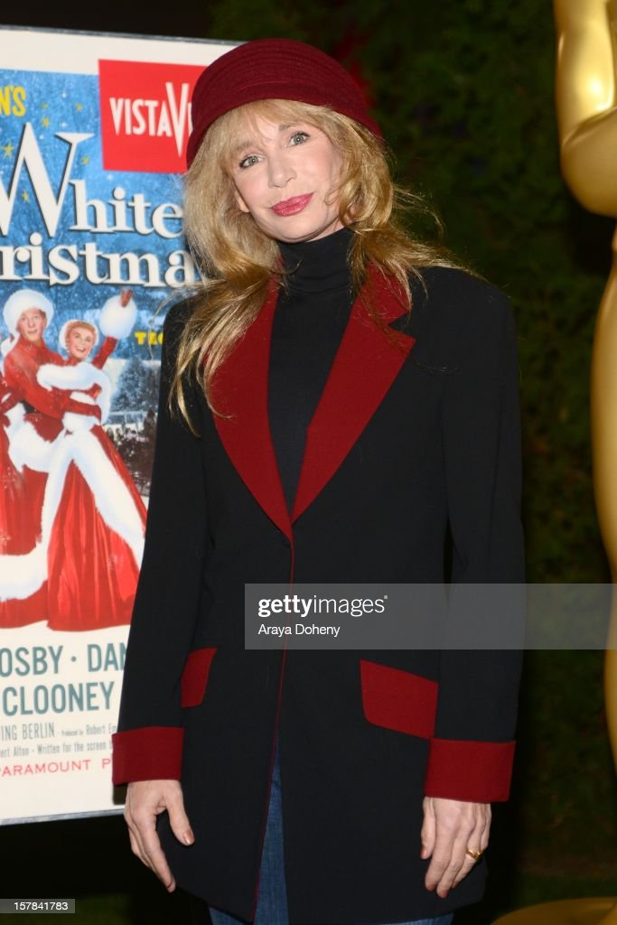 Actress <a gi-track='captionPersonalityLinkClicked' href=/galleries/search?phrase=Mary+Crosby&family=editorial&specificpeople=799465 ng-click='$event.stopPropagation()'>Mary Crosby</a> attends the Academy of Motion Picture Arts and Sciences screening of 'White Christmas' held at Oscars Outdoors on December 6, 2012 in Hollywood, California.