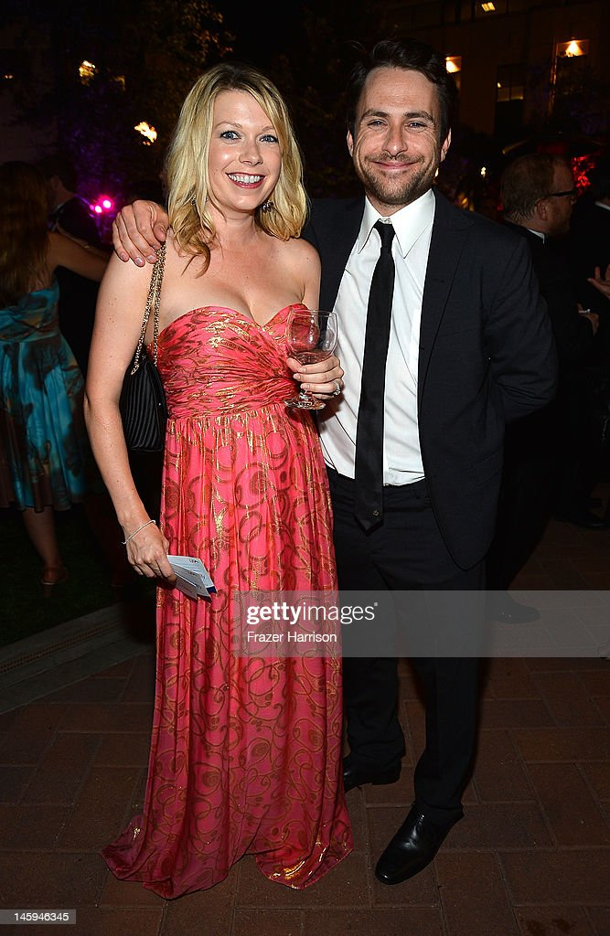 Actress Mary Elizabeth Ellis and actor <a gi-track='captionPersonalityLinkClicked' href=/galleries/search?phrase=Charlie+Day&family=editorial&specificpeople=537731 ng-click='$event.stopPropagation()'>Charlie Day</a> attend the after party for the 40th AFI Life Achievement Award honoring Shirley MacLaine held at Sony Pictures Studios on June 7, 2012 in Culver City, California. The AFI Life Achievement Award tribute to Shirley MacLaine will premiere on TV Land on Saturday, June 24 at 9PM