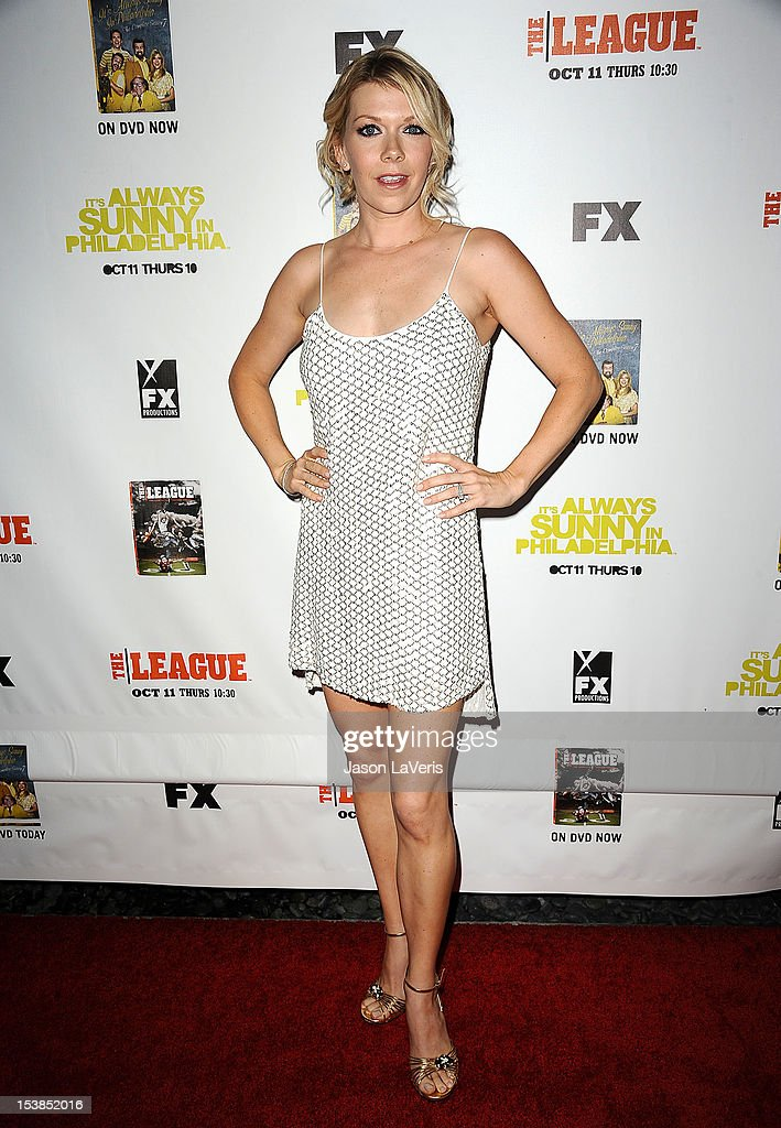 Actress Mary Elizabeth Ellis attends the FX season premiere screenings for 'It's Always Sunny In Philadelphia' and 'The League' at ArcLight Cinemas Cinerama Dome on October 9, 2012 in Hollywood, California.