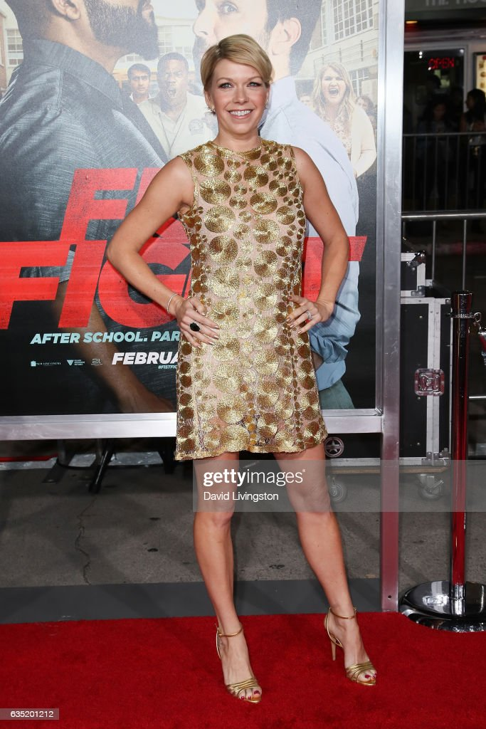 Actress Mary Elizabeth Ellis attends the premiere of Warner Bros. Pictures' 'Fist Fight' at Regency Village Theatre on February 13, 2017 in Westwood, California.