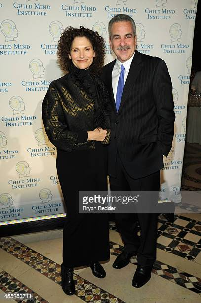 Actress Mary Elizabeth Mastrantonio and Dr Harold S Koplewicz attend the Child Mind Institute 4th Annual Child Advocacy Award Dinner at Cipriani 42nd...