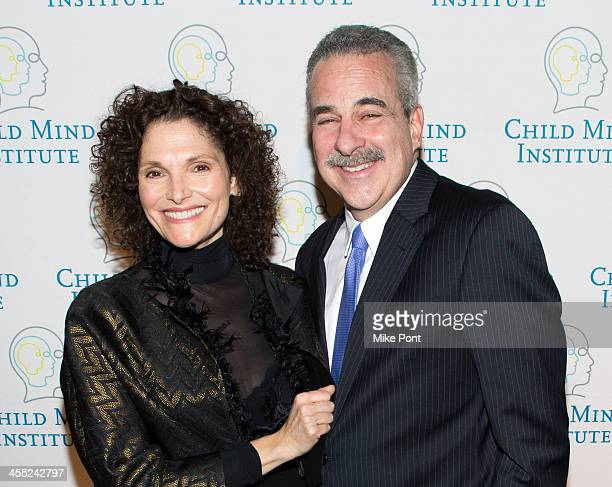 Actress Mary Elizabeth Mastrantonio and Founder President of Child Mind Institute Dr Harold Koplewicz attend the 4th annual Child Mind Institute's...