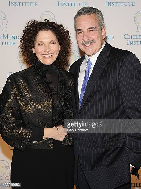 Actress Mary Elizabeth Mastrantonio and founder president of The Child Mind Institute Dr Harold Koplewicz attend the 4th Annual Child Mind...