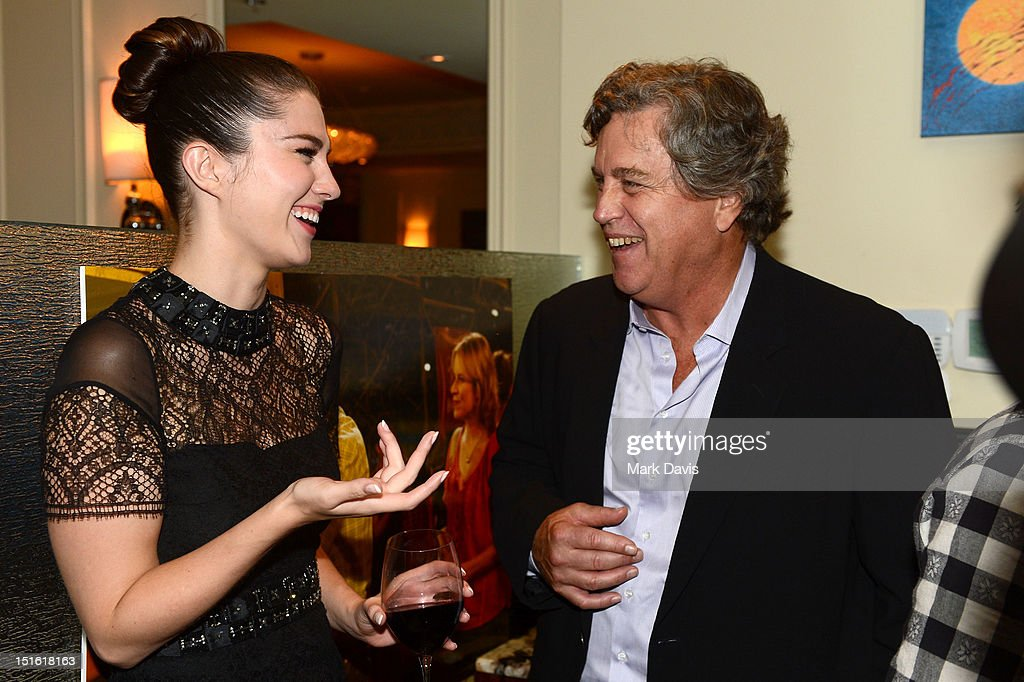 Actress <a gi-track='captionPersonalityLinkClicked' href=/galleries/search?phrase=Mary+Elizabeth+Winstead&family=editorial&specificpeople=782914 ng-click='$event.stopPropagation()'>Mary Elizabeth Winstead</a> (L) and Co-President of Sony Pictures Classics <a gi-track='captionPersonalityLinkClicked' href=/galleries/search?phrase=Tom+Bernard&family=editorial&specificpeople=204620 ng-click='$event.stopPropagation()'>Tom Bernard</a> attend the Sony Pictures cocktail hour during the 2012 Toronto International Film Festival at the Creme Brasserie on September 8, 2012 in Toronto, Canada.