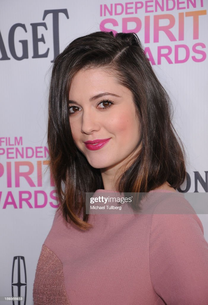 Actress Mary Elizabeth Winstead arrives at a brunch honoring the nominees for the 2013 Film Independent Filmmaker Grant and Spirit Awards at BOA Steakhouse on January 12, 2013 in West Hollywood, California.