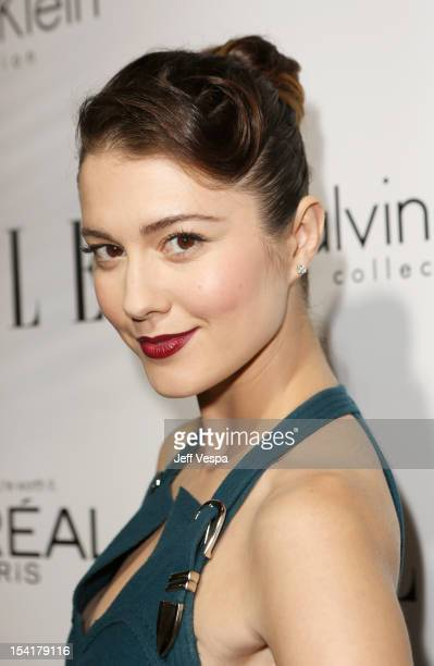 Actress Mary Elizabeth Winstead arrives at ELLE's 19th Annual Women In Hollywood Celebration at the Four Seasons Hotel on October 15 2012 in Beverly...