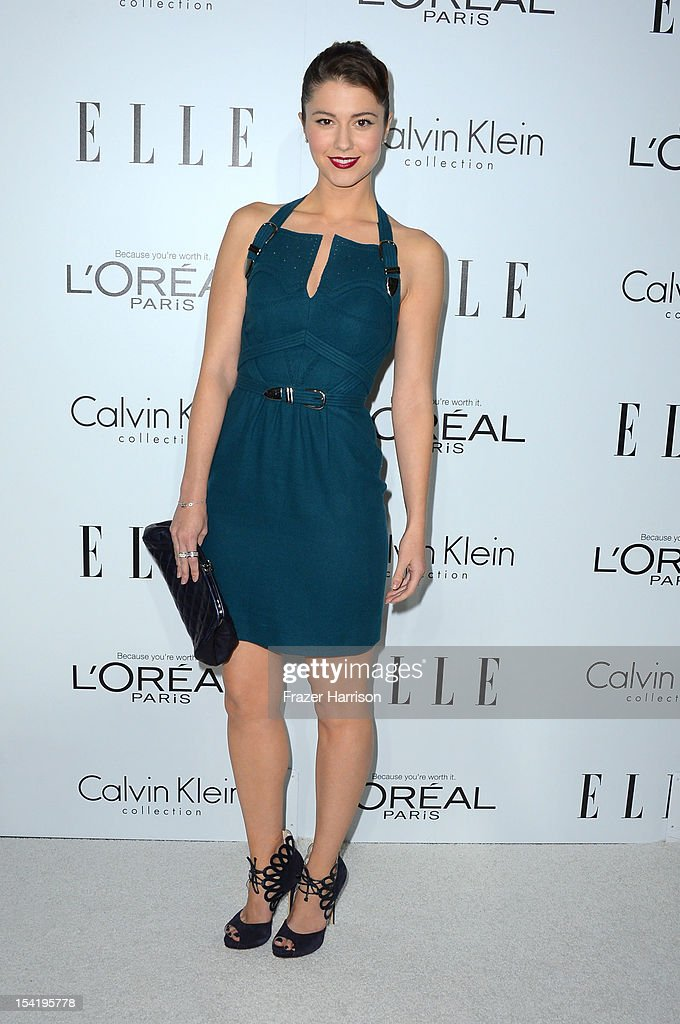 Actress <a gi-track='captionPersonalityLinkClicked' href=/galleries/search?phrase=Mary+Elizabeth+Winstead&family=editorial&specificpeople=782914 ng-click='$event.stopPropagation()'>Mary Elizabeth Winstead</a> arrives at ELLE's 19th Annual Women In Hollywood Celebration at the Four Seasons Hotel on October 15, 2012 in Beverly Hills, California.
