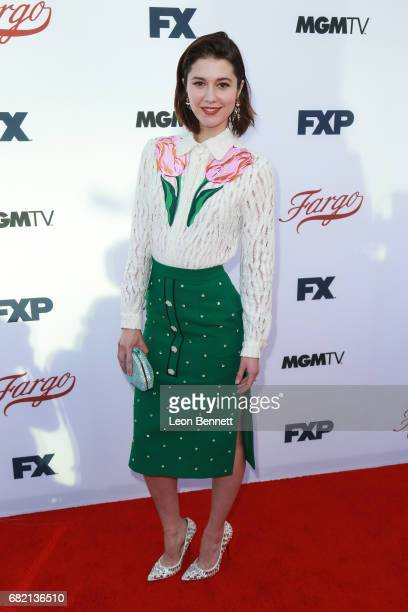Actress Mary Elizabeth Winstead arrives at FX's 'Fargo' For Your Consideration Event at Saban Media Center on May 11 2017 in North Hollywood...
