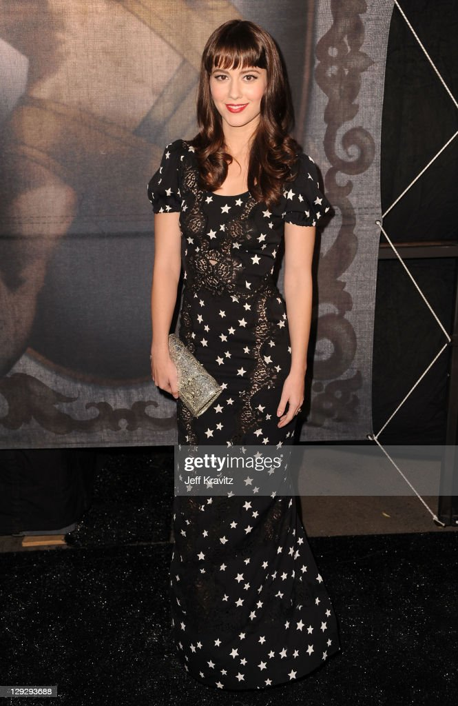 Actress Mary Elizabeth Winstead arrives at Spike TV's 'Scream 2011' at Universal Studios on October 15 2011 in Universal City California