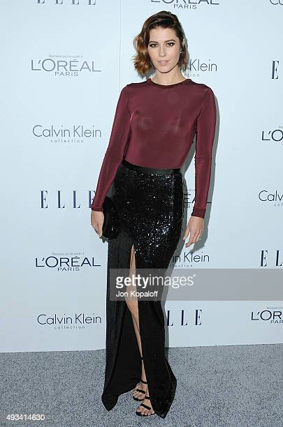 Actress Mary Elizabeth Winstead arrives at the 22nd Annual ELLE Women In Hollywood Awards at Four Seasons Hotel Los Angeles at Beverly Hills on...