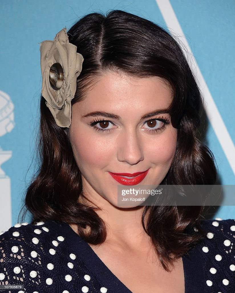 Actress <a gi-track='captionPersonalityLinkClicked' href=/galleries/search?phrase=Mary+Elizabeth+Winstead&family=editorial&specificpeople=782914 ng-click='$event.stopPropagation()'>Mary Elizabeth Winstead</a> arrives at the HFPA/InStyle Party Announcing Miss Golden Globe 2011 at Cecconi's Restaurant on December 9, 2010 in Los Angeles, California.