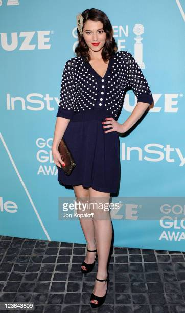 Actress Mary Elizabeth Winstead arrives at the HFPA/InStyle Party Announcing Miss Golden Globe 2011 at Cecconi's Restaurant on December 9 2010 in Los...