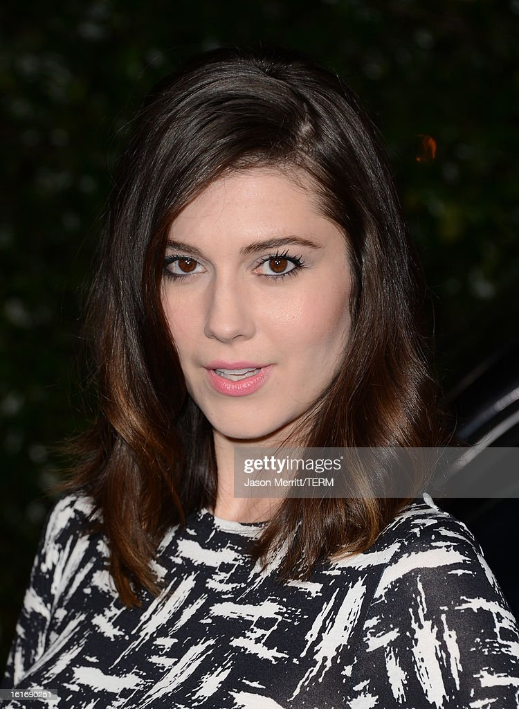 Actress Mary Elizabeth Winstead arrives at the Topshop Topman LA Opening Party at Cecconi's West Hollywood on February 13, 2013 in Los Angeles, California.