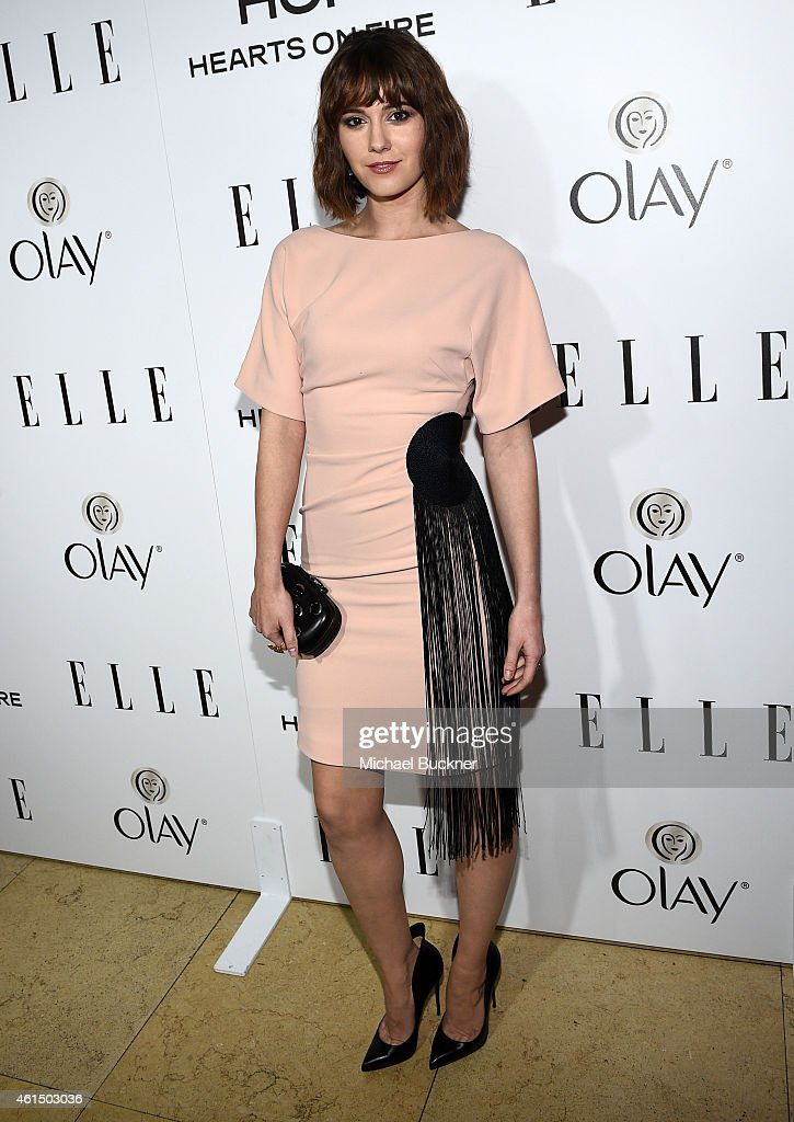 Actress <a gi-track='captionPersonalityLinkClicked' href=/galleries/search?phrase=Mary+Elizabeth+Winstead&family=editorial&specificpeople=782914 ng-click='$event.stopPropagation()'>Mary Elizabeth Winstead</a> attends ELLE's Annual Women in Television Celebration on January 13, 2015 at Sunset Tower in West Hollywood, California. Presented by Hearts on Fire and Olay.