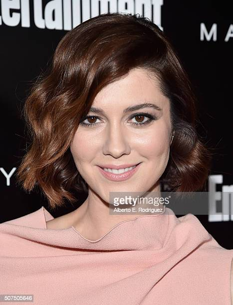 Actress Mary Elizabeth Winstead attends Entertainment Weekly's celebration honoring THe Screen Actors Guild presented by Maybeline at Chateau Marmont...