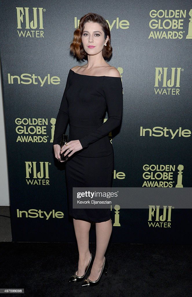 Actress <a gi-track='captionPersonalityLinkClicked' href=/galleries/search?phrase=Mary+Elizabeth+Winstead&family=editorial&specificpeople=782914 ng-click='$event.stopPropagation()'>Mary Elizabeth Winstead</a> attends Hollywood Foreign Press Association and InStyle Celebration of The 2016 Golden Globe Award Season at Ysabel on November 17, 2015 in West Hollywood, California.