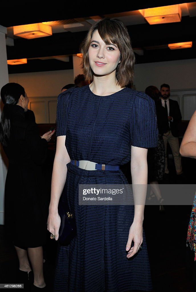 Actress <a gi-track='captionPersonalityLinkClicked' href=/galleries/search?phrase=Mary+Elizabeth+Winstead&family=editorial&specificpeople=782914 ng-click='$event.stopPropagation()'>Mary Elizabeth Winstead</a> attends Lynn Hirschberg Celebrates W's It Girls with Piaget and Dom Perignon at A.O.C on January 10, 2015 in Los Angeles, California.