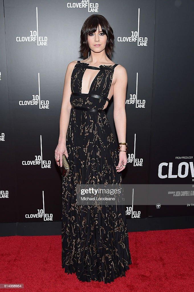 """10 Cloverfield Lane"" New York Premiere - Arrivals"