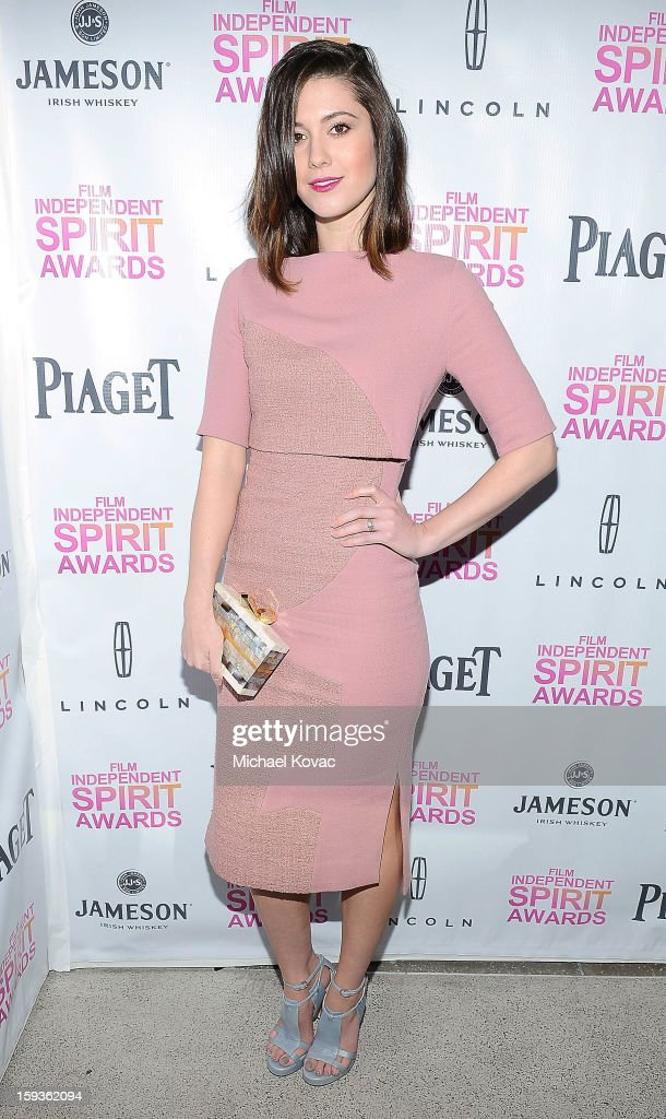 Actress <a gi-track='captionPersonalityLinkClicked' href=/galleries/search?phrase=Mary+Elizabeth+Winstead&family=editorial&specificpeople=782914 ng-click='$event.stopPropagation()'>Mary Elizabeth Winstead</a> attends the 2013 Film Independent Filmmaker Grant And Spirit Awards Nominees Brunch at BOA Steakhouse on January 12, 2013 in West Hollywood, California.