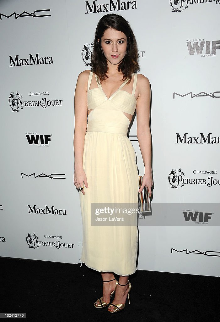 Actress Mary Elizabeth Winstead attends the 6th annual Women In Film pre-Oscar cocktail party at Fig & Olive Melrose Place on February 22, 2013 in West Hollywood, California.