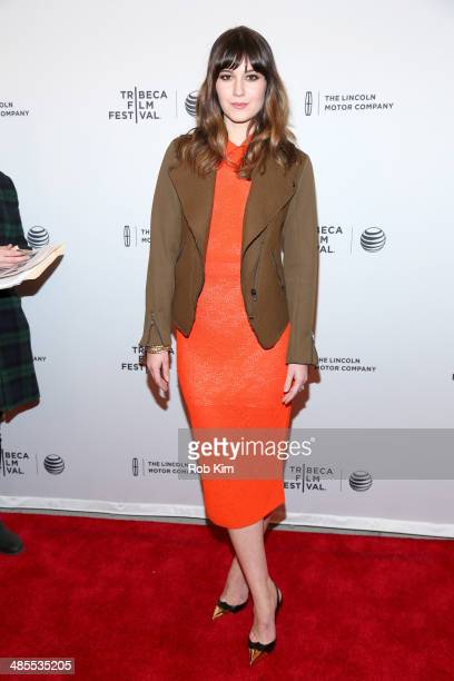 Actress Mary Elizabeth Winstead attends the 'Alex of Venice' Premiere during the 2014 Tribeca Film Festival at SVA Theater on April 18 2014 in New...