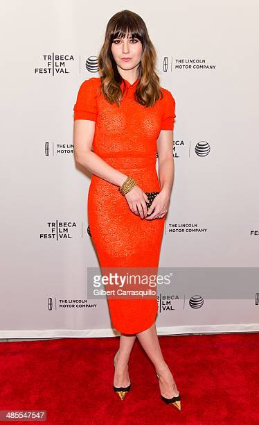 Actress Mary Elizabeth Winstead attends the 'Alex of Venice' screening during the 2014 Tribeca Film Festival at SVA Theater on April 18 2014 in New...
