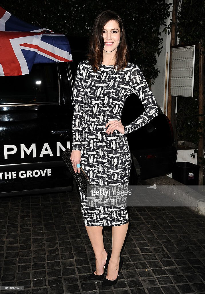 Actress Mary Elizabeth Winstead attends the Topshop Topman LA flagship store opening party at Cecconi's Restaurant on February 13, 2013 in Los Angeles, California.