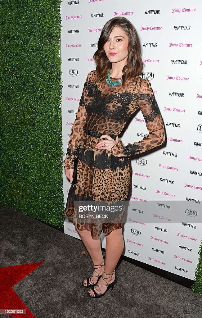 Actress Mary Elizabeth Winstead attends the Vanity Fair And Juicy Couture Celebration Of The 2013 Vanities Calendar party at Chateau Marmont February 18, 2013 in West Hollywood, California. AFP PHOTO Robyn BECK