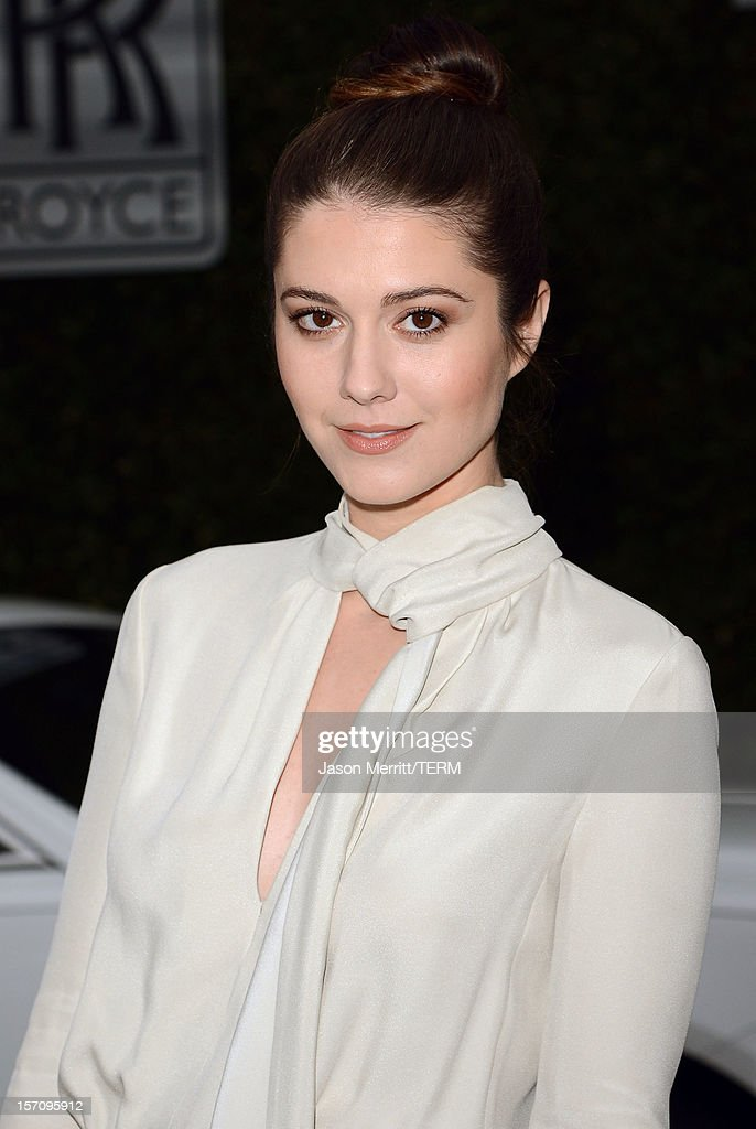 Actress Mary Elizabeth Winstead attends The Variety Studio: Awards Edition held at a private residence on November 28, 2012 in Los Angeles, California.