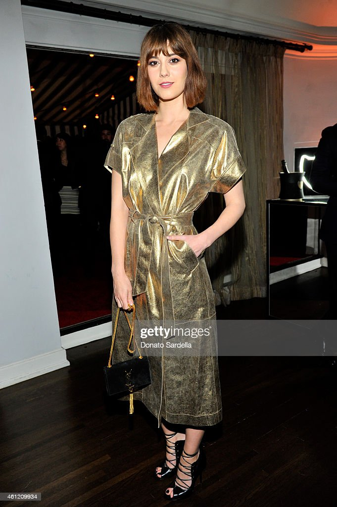 Actress <a gi-track='captionPersonalityLinkClicked' href=/galleries/search?phrase=Mary+Elizabeth+Winstead&family=editorial&specificpeople=782914 ng-click='$event.stopPropagation()'>Mary Elizabeth Winstead</a> attends the W Magazine celebration of the 'Best Performances' Portfolio and The Golden Globes with Cadillac and Dom Perignon at Chateau Marmont on January 8, 2015 in Los Angeles, California.