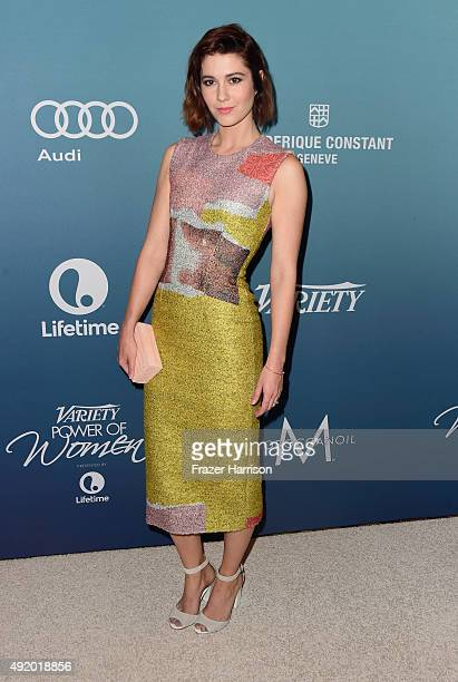 Actress Mary Elizabeth Winstead attends Variety's Power Of Women Luncheon at the Beverly Wilshire Four Seasons Hotel on October 9 2015 in Beverly...