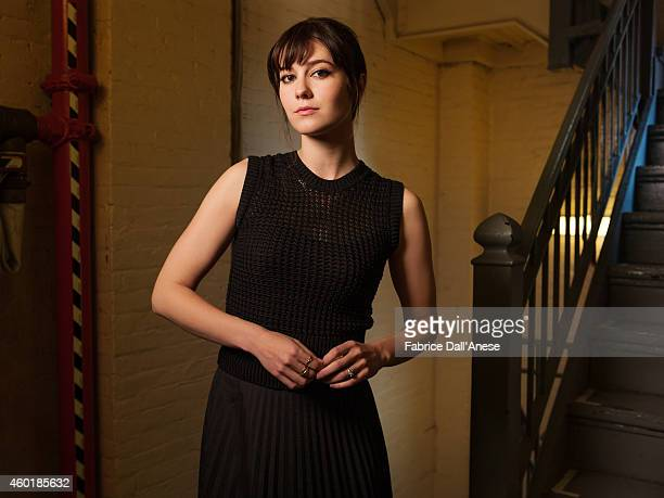 Actress Mary Elizabeth Winstead is photographed for Vanity Fair Italy on April 23 2014 in New York City