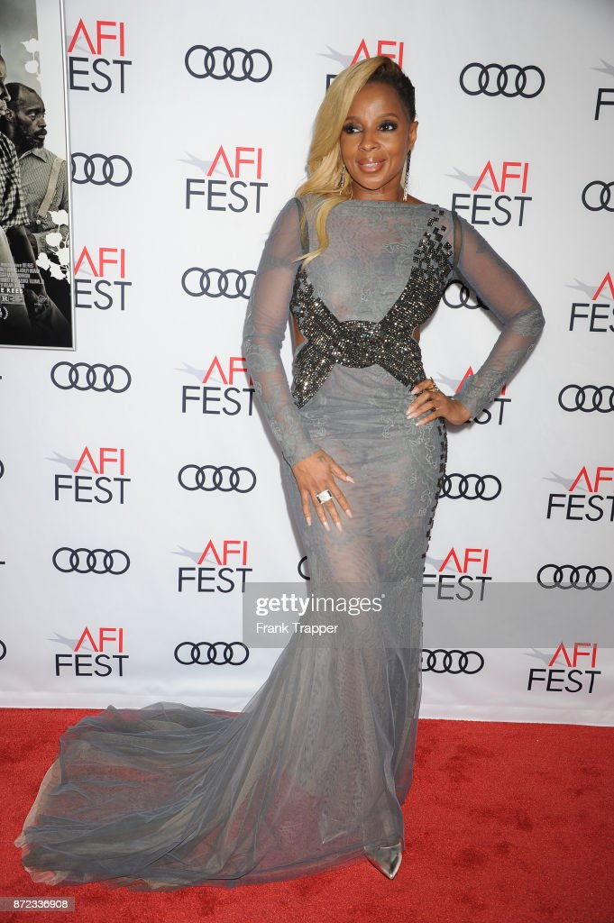 Actress Mary J. Blige attends the screening of Netflix's 'Mudbound' at the Opening Night Gala of AFI FEST 2017 Presented By Audi at TCL Chinese Theatre on November 9, 2017 in Hollywood, California.