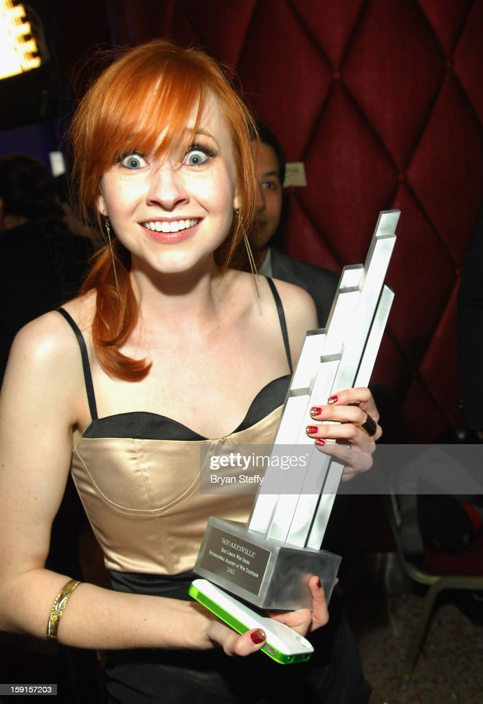 Actress Mary Kate Wiles appears at the IAWTV Awards at the CES 2013 Show at the Palazzo Theater at the Palazzo Resort Hotel/Casino on January 8, 2013 in Las Vegas, Nevada.