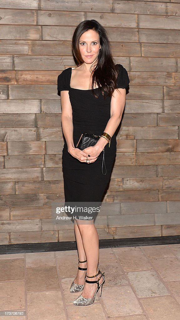 Actress Mary Louise Parker attends The Cinema Society and Bally screening of Summit Entertainment's 'Red 2' after party at Refinery Hotel on July 16, 2013 in New York City.