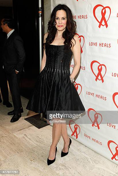 Actress Mary Louise Parker attends the Love Heals 2014 Gala at Four Seasons Restaurant on March 11 2014 in New York City