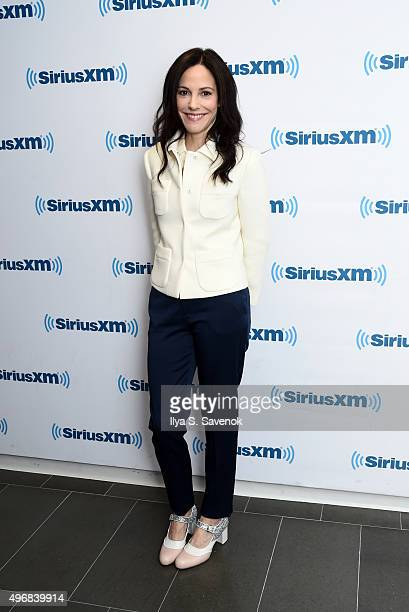 Actress Mary Louise Parker vists the SiriusXM Studios on November 12 2015 in New York City