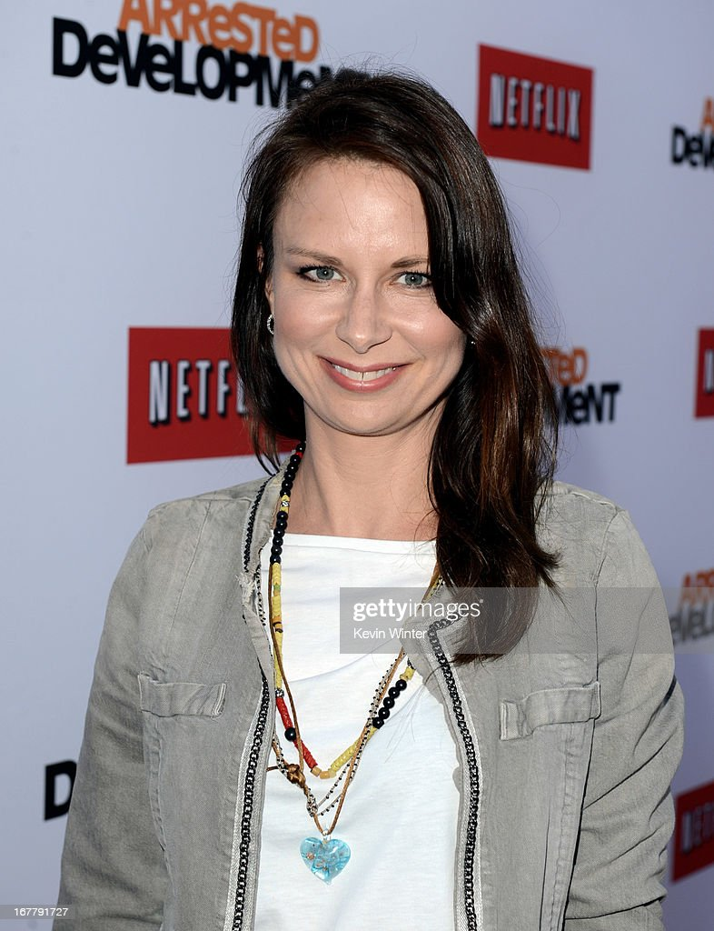 Actress Mary Lynn Rajskub arrives at the premiere of Netflix's 'Arrested Development' Season 4 at the Chinese Theatre on April 29, 2013 in Los Angeles, California.
