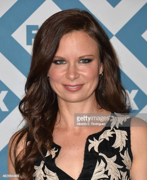 Actress Mary Lynn Rajskub arrives to the 2014 Fox AllStar Party at the Langham Hotel on January 13 2014 in Pasadena California