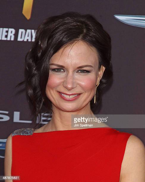 Actress Mary Lynn Rajskub attends '24 Live Another Day' World Premiere at Intrepid Sea on May 2 2014 in New York City