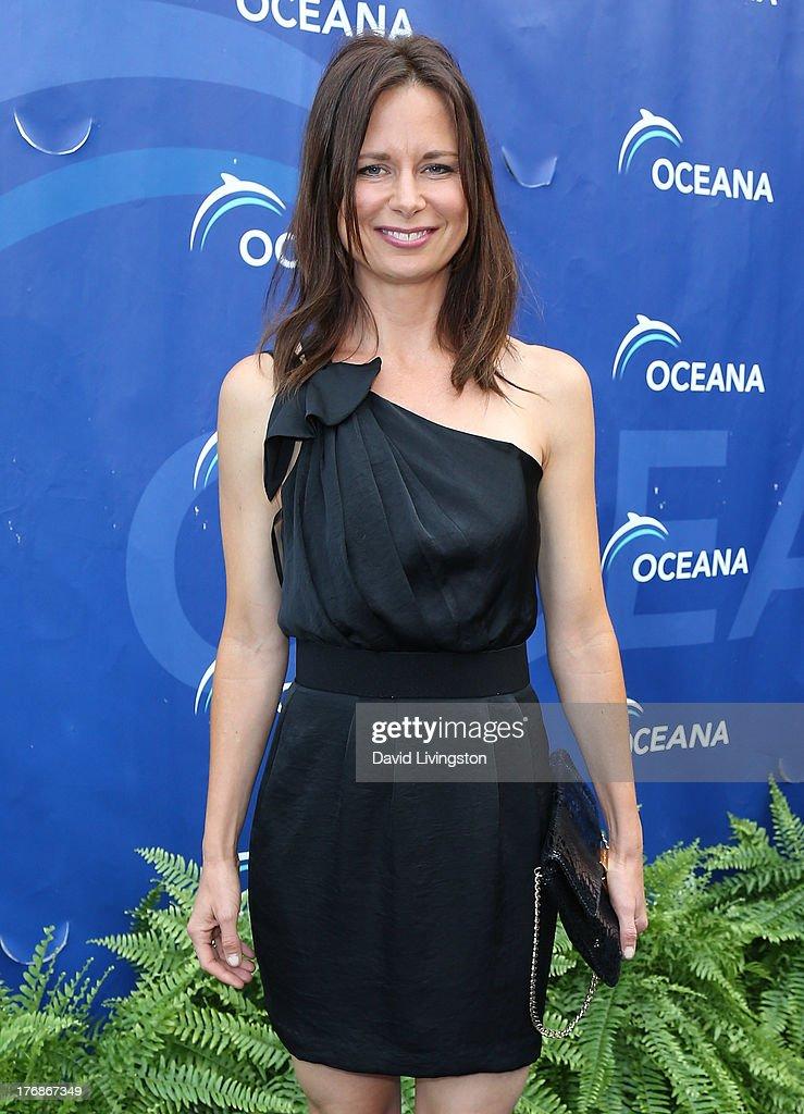 Actress Mary Lynn Rajskub attends Oceana's 6th Annual SeaChange Summer Party at Villa di Sogni on August 18, 2013 in Laguna Beach, California.