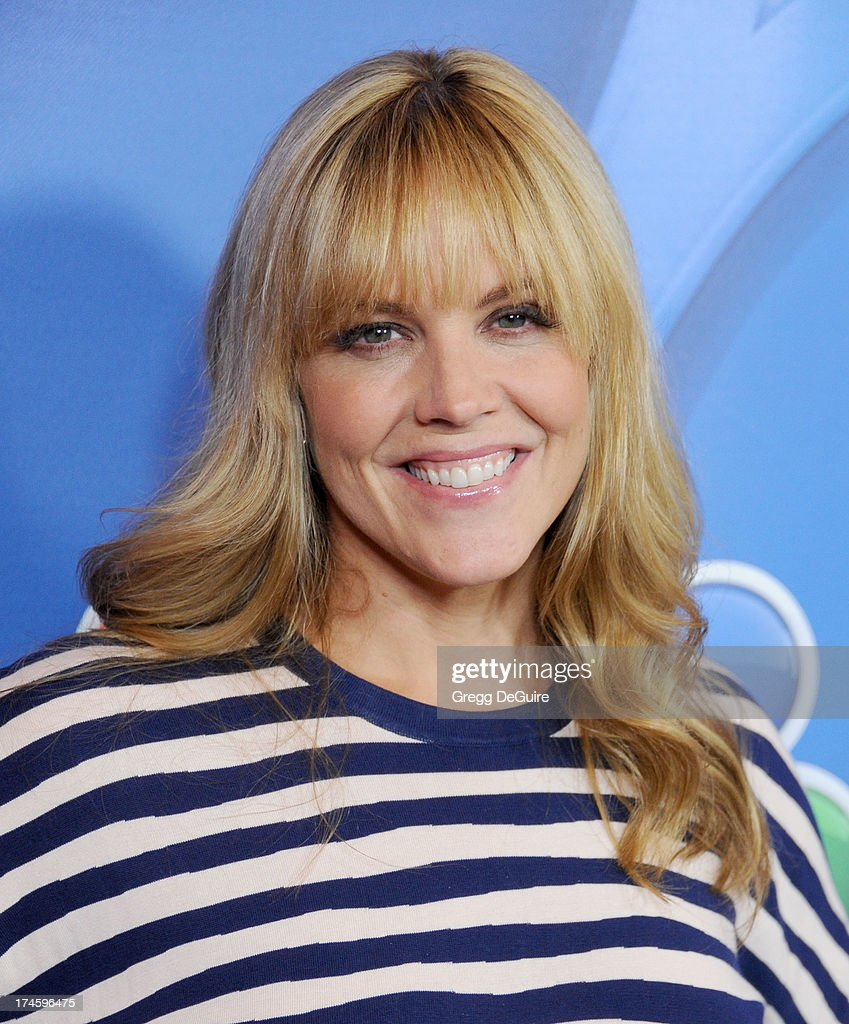 Actress <a gi-track='captionPersonalityLinkClicked' href=/galleries/search?phrase=Mary+McCormack&family=editorial&specificpeople=226629 ng-click='$event.stopPropagation()'>Mary McCormack</a> arrives at the 2013 NBC Television Critics Association's Summer Press Tour at The Beverly Hilton Hotel on July 27, 2013 in Beverly Hills, California.