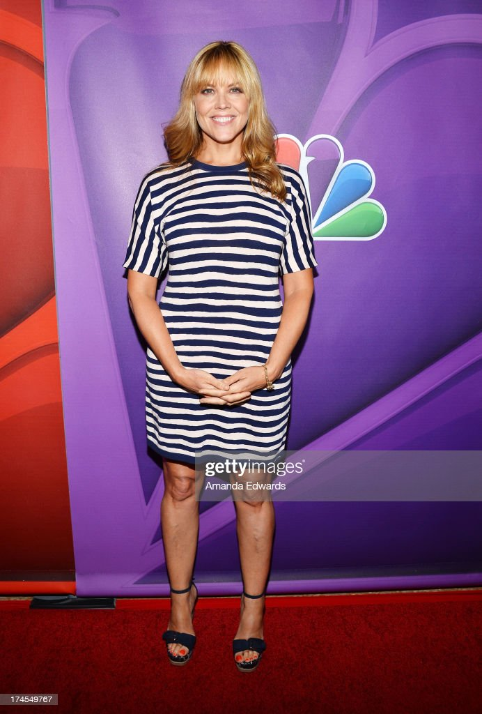 Actress Mary McCormack arrives at the 2013 Television Critics Association's Summer Press Tour - NBC Party at The Beverly Hilton Hotel on July 27, 2013 in Beverly Hills, California.