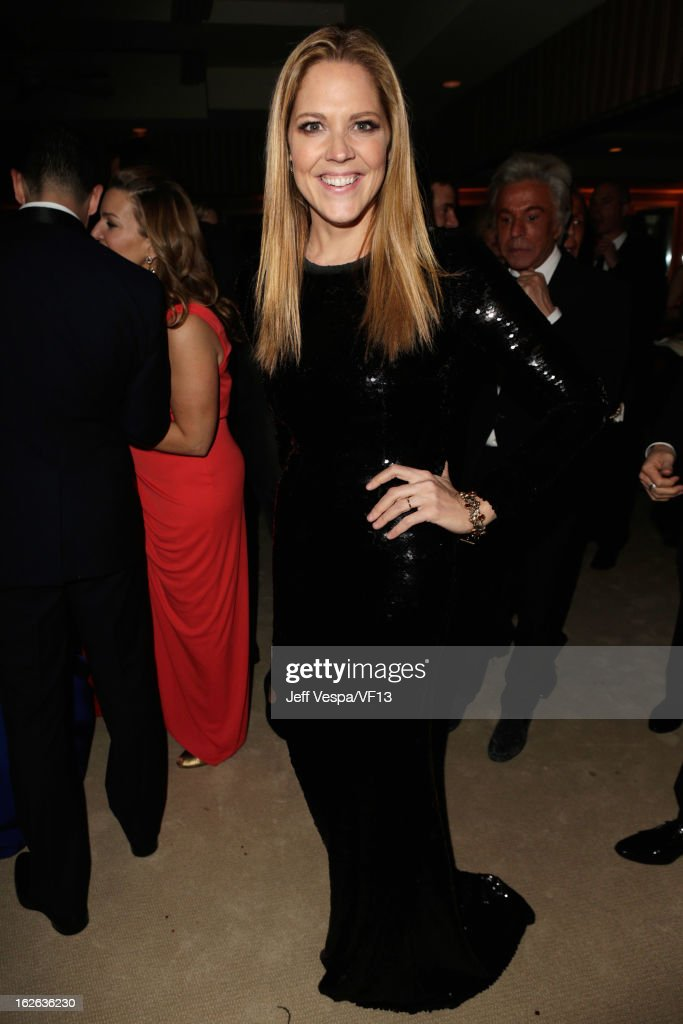Actress Mary McCormack attends the 2013 Vanity Fair Oscar Party hosted by Graydon Carter at Sunset Tower on February 24, 2013 in West Hollywood, California.
