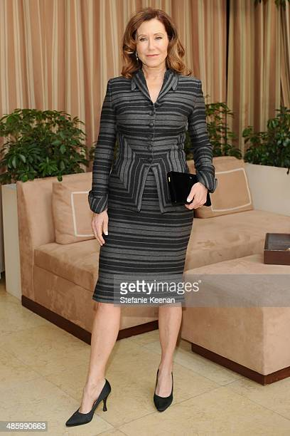 Actress Mary McDonnell attends the Dior Beauty Operation Smile Luncheon at Sunset Tower on January 8 2014 in West Hollywood California