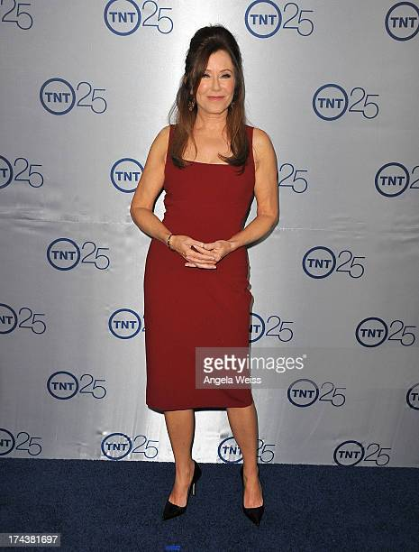 Actress Mary McDonnell attends TNT's 25th Anniversary Party at The Beverly Hilton Hotel on July 24 2013 in Beverly Hills California