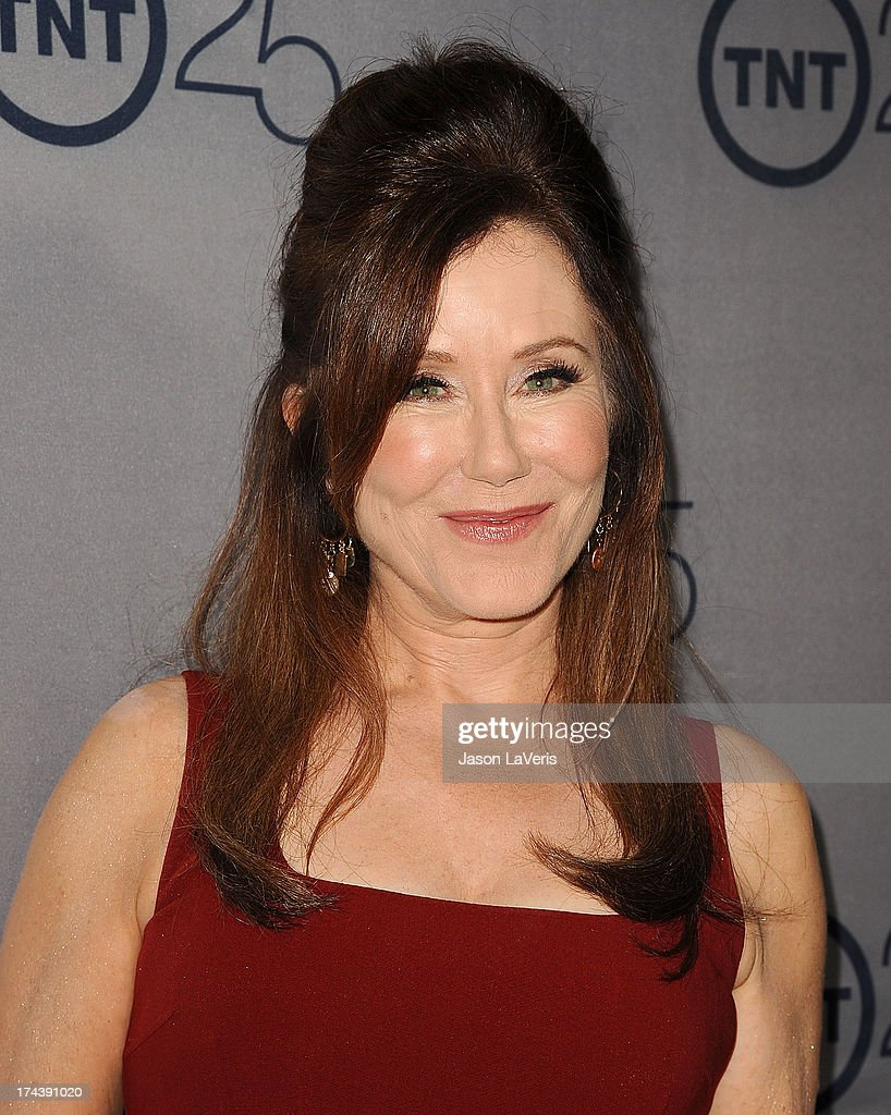 Actress <a gi-track='captionPersonalityLinkClicked' href=/galleries/search?phrase=Mary+McDonnell&family=editorial&specificpeople=1549892 ng-click='$event.stopPropagation()'>Mary McDonnell</a> attends TNT's 25th anniversary party at The Beverly Hilton Hotel on July 24, 2013 in Beverly Hills, California.